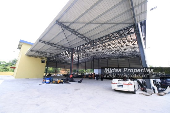 ARAB MALAYSIAN INDUSTRIAL PARK NILAI INDUSTRIAL ESTATE NEW WAREHOUSE WITH CF NEAR HIGHWAY  136987418