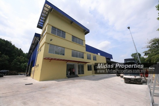 ARAB MALAYSIAN INDUSTRIAL PARK NILAI INDUSTRIAL ESTATE NEW WAREHOUSE WITH CF NEAR HIGHWAY  136987462