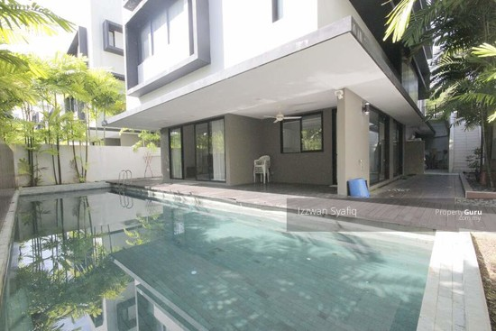 Beautiful Bungalow Villa with Swimmig Pool, 20 Trees, Taman Melawati, Near Melawati Mall  138218618