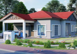 New 1 Storey Bungalow Perigi Nenas Pulau Indah - Property For Sale in Malaysia