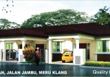 Taman Meru Impian Jalan Jambu Klang 1 storey terrace house - Property For Sale in Singapore