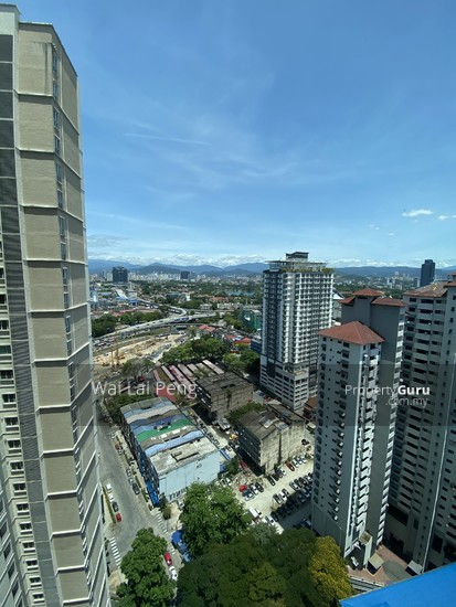 Titiwangsa Sentral view from living hall 144469274