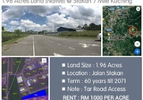 2 Acres Land at Stakan 7 Mile Muara Tuang Kuching - Property For Sale in Malaysia
