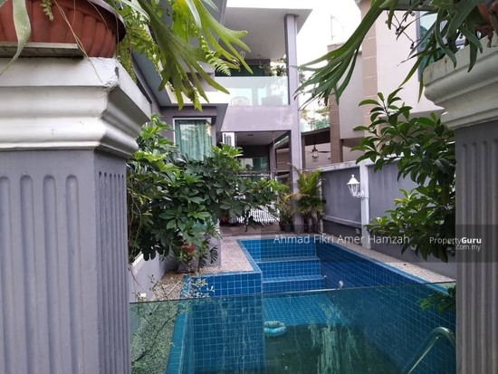 [ PRIVATE POOL ] Double Storey End Lot Superlink D'Alpinia Puchong  149611421