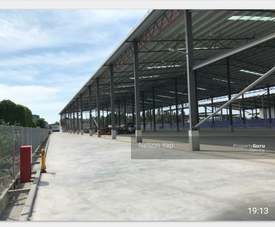 Port Klang Telok Gong detached warehouse for rent and for sale  149656686