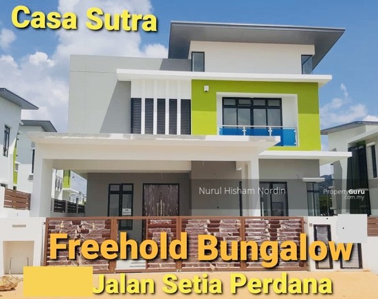 Freehold Gated Guarded Bungalow Casa Sutra Setia Alam Shah Alam  150958832