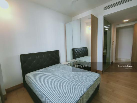Brunsfield EmbassyView 2nd bedroom with built-in wardrobe and attached bathroom  152345191