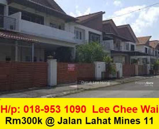 Bandar Lahat Mines Waterfront City. (Lcw)  154972797