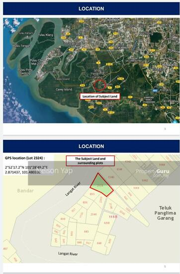 Jenjarom Selangor 4.47 acre freehold agriculture zone industrial land for sale  156333416