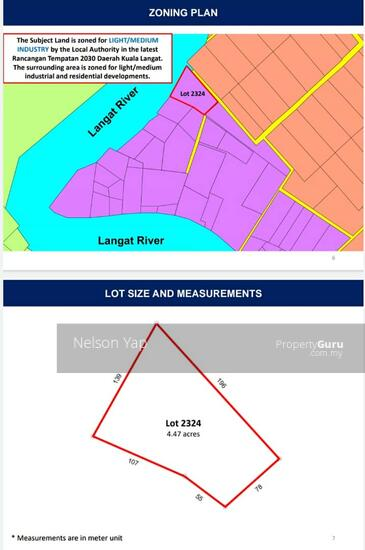 Jenjarom Selangor 4.47 acre freehold agriculture zone industrial land for sale  156333424