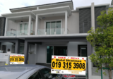 Superlink double storey, JALAN setia wawasan, Setia alam - Property For Sale in Malaysia