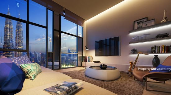Star Residences @ KLCC Type F2 - Living Area 122464964