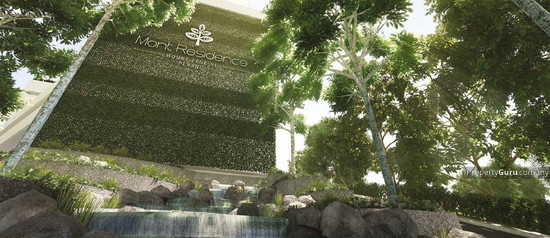 Mont Residence @ Penang Landscaped Water Features 122465303
