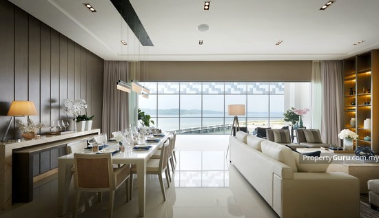 Southern Marina Residences Living and Dining Area 122465627