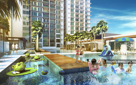 Ascenda Residences @ SkyArena Setapak Pool View 126212987