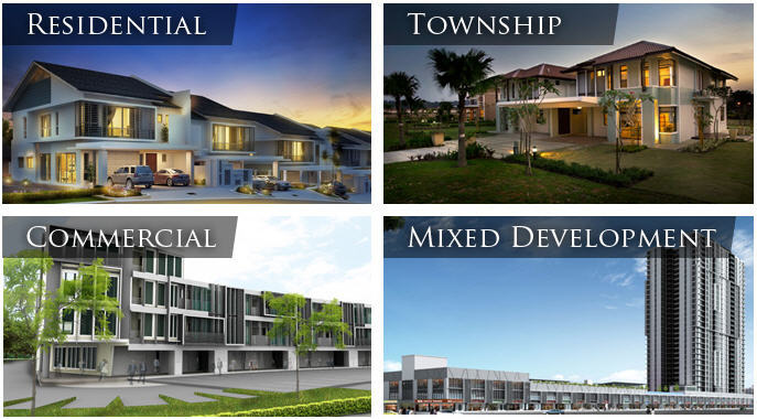 Commercial Property Development : Differentiating property types in malaysia