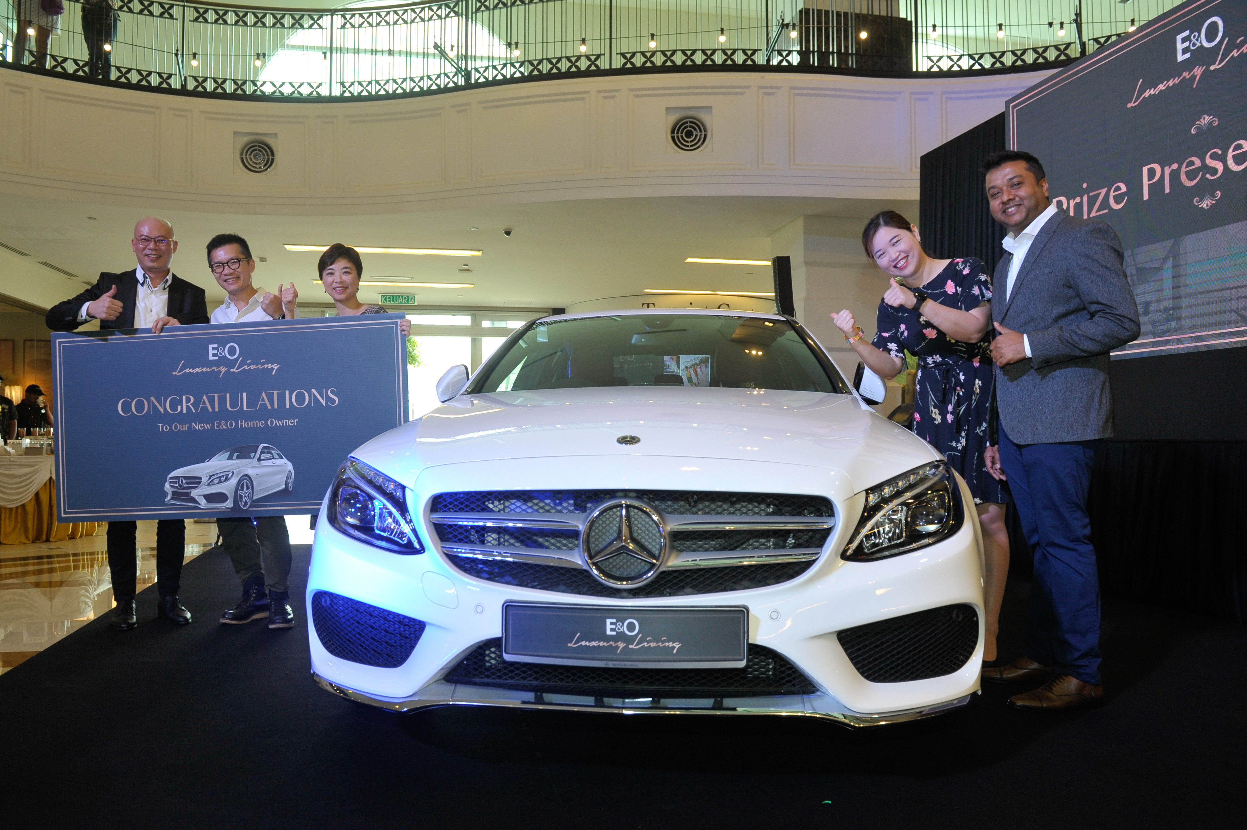 First winner of the E&O Luxury Living Campaign unveiled | Market
