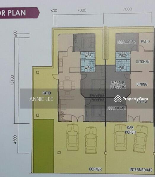Own a Single Storey House Lundu Resort Town Sarawak Kuching – Single Storey Terrace House Floor Plan