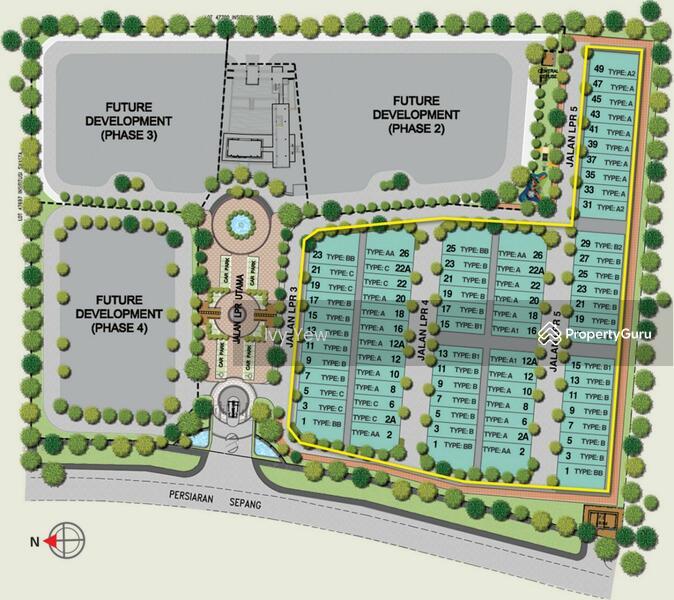 Cyberjaya Landed New Project Lake Point Residence