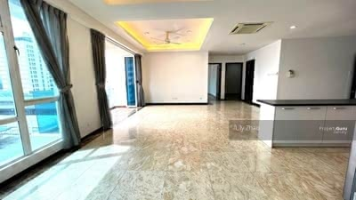 For Rent - Beautiful Cozy Luxury Super Condo   Private Lift   Renovated   Partly Furnished   1 Borneo Hypermall