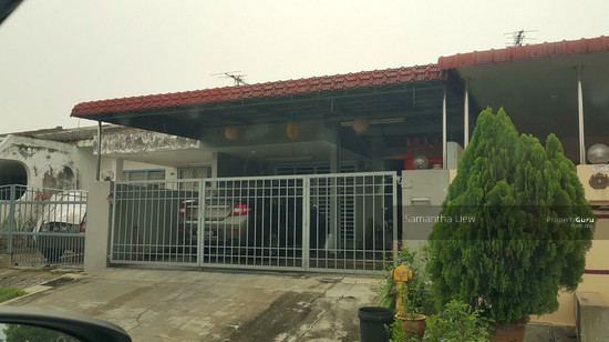 Single storey terrace house at taman wira jaya single for 3 storey terrace house for sale