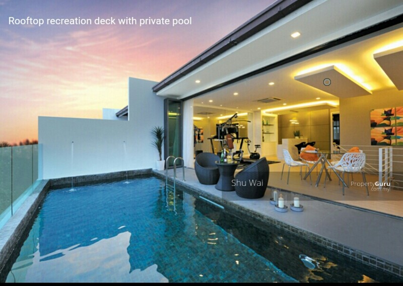 New Launch Villas Pool Spacious Sf Exclusive Private Pool Puchong Near Klang Shah Alam Sri