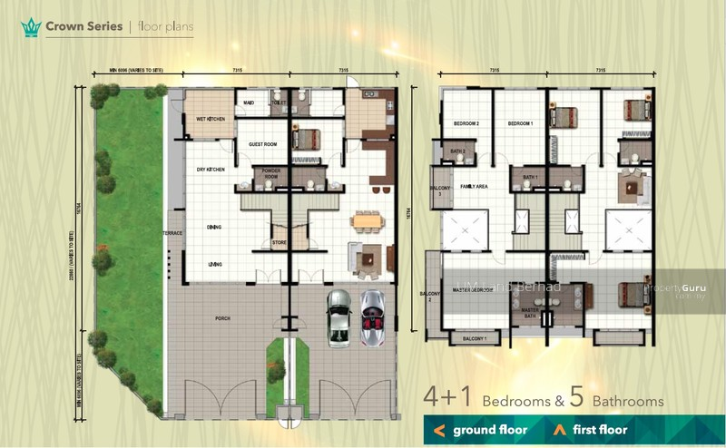 Emerald residenz freehold 2 storey terrace crown series for Terrace house series