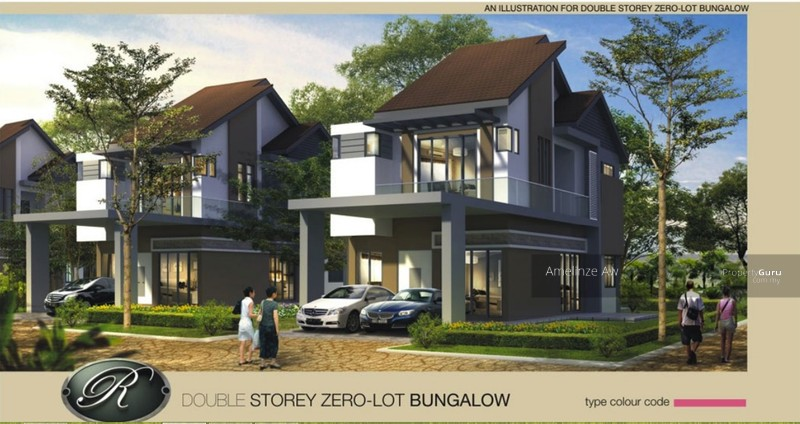 2s Zero Lot Bungalow Tambun Royale City Jln