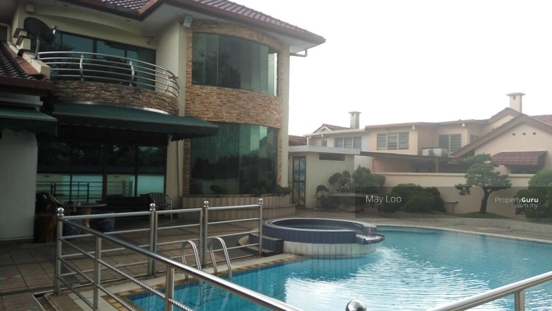 Freehold Bungalow With Swimming Pool And Sauna At Pasir Puteh Ipoh Perak 8 Bedrooms