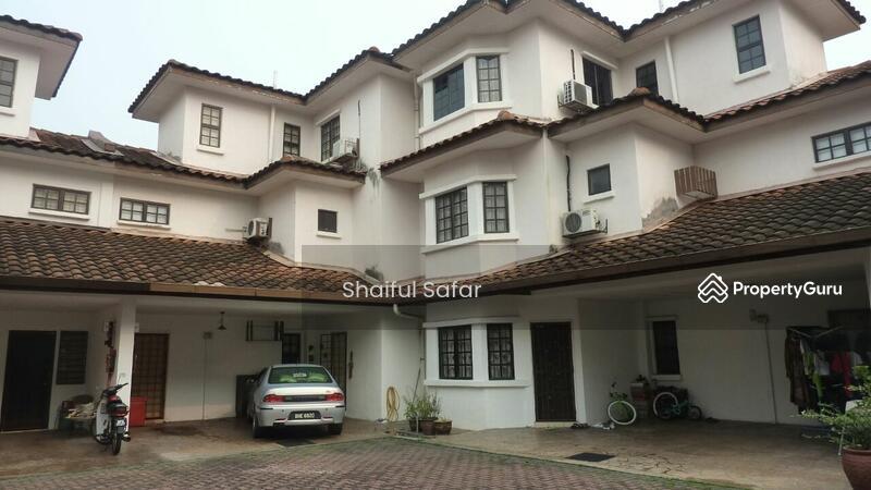 3 storey terrace persada villa u5 subang bestari jalan for 3 storey terrace house for sale