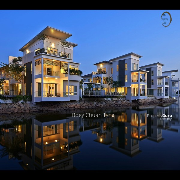 Senibong cove isolla villa luxury bungalow house for sale for Bungalow house for sale