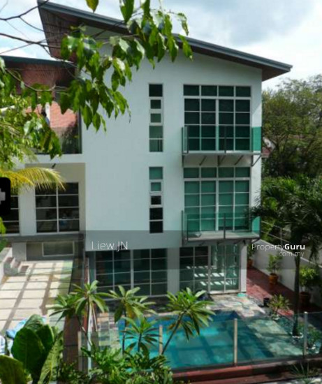 Damansara heights new design big garden bungalow with pool for Garden pool bungalow