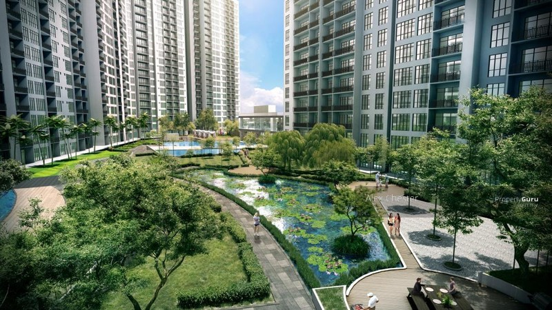 Perling Taman Sutera Luxury Apartment Brand New Jalan