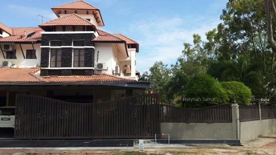 2 storey terrace corner bandar nusaputra puchong house for for 2 storey house for sale