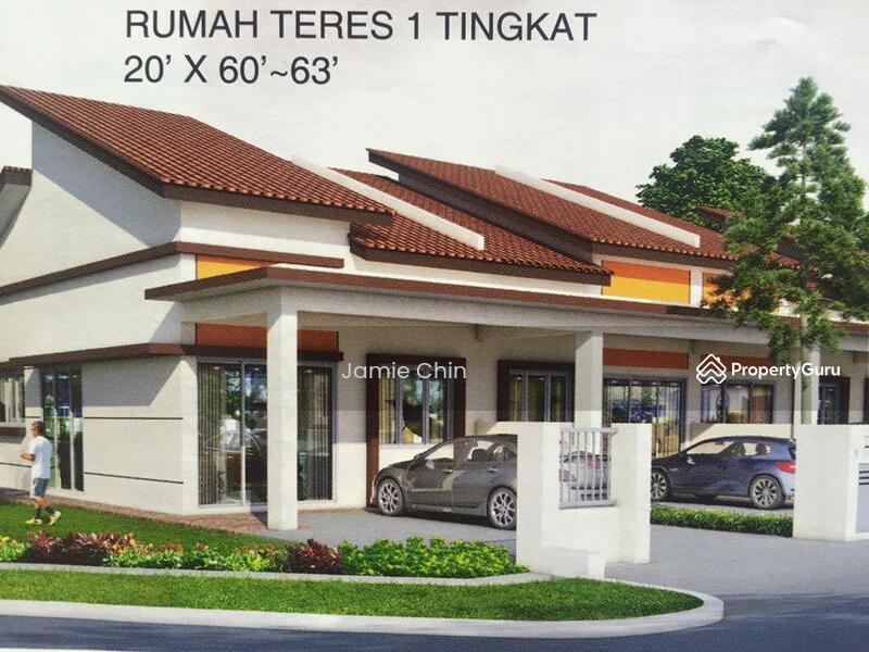projek baru rumah teres 1 tingkat 20x60 salak tinggi