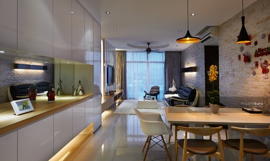 Desa park north menjalara luxury new condo kepong kuala for Modern condo interior design for small spaces