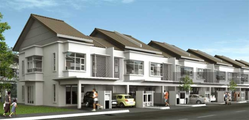 New 2 storeys terrace house super value buy banting for The terrace land and house
