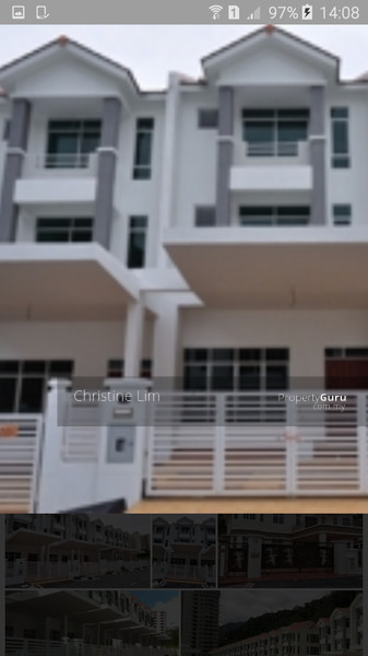 Beverly hills 3 storey terrace house tanjung bungah for 3 storey terrace house for sale