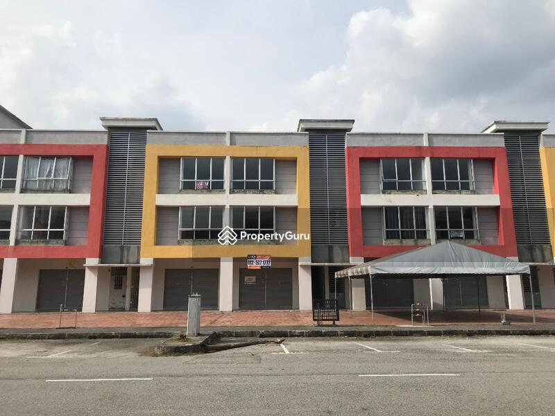 Three Storey Shop Office With Land at Bandar Meru Raya Ipoh