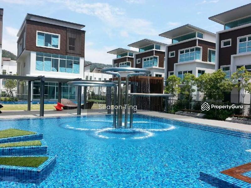 Permai garden 3 storey terrace house tanjung bungah for 3 storey terrace house for sale