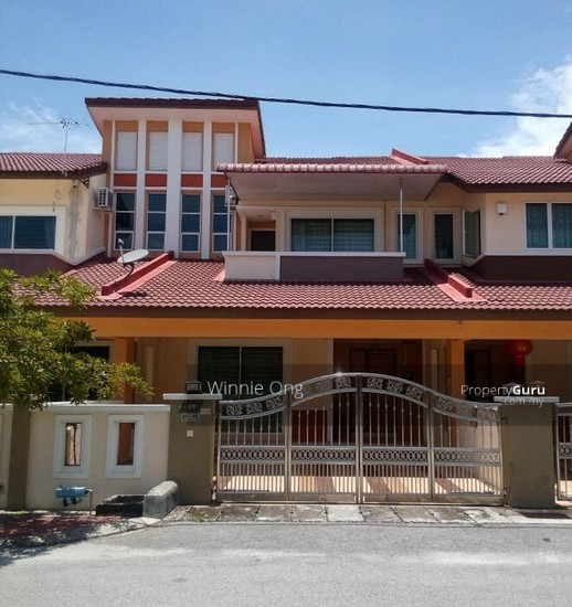 Freehold double storey terraced house for sale at bandar for 2 storey house for sale