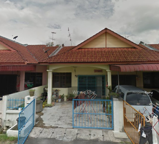 Single storey terraced house for sale at taman permata for 2 storey house for sale