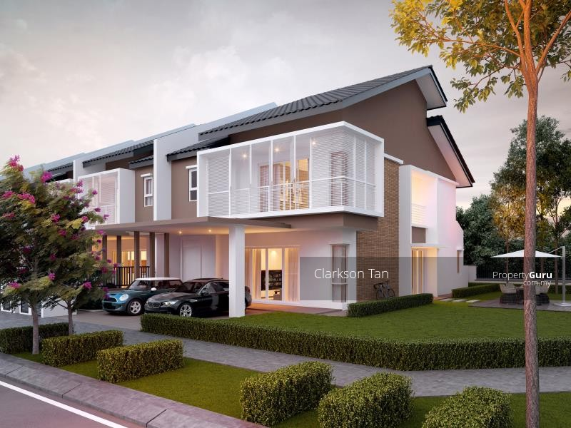 New superlink 22x80 terrace house new township in kuchai for New terrace house