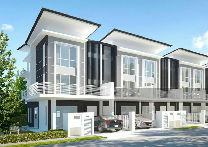 modern luxury freehold 3 storey terrace house at seri