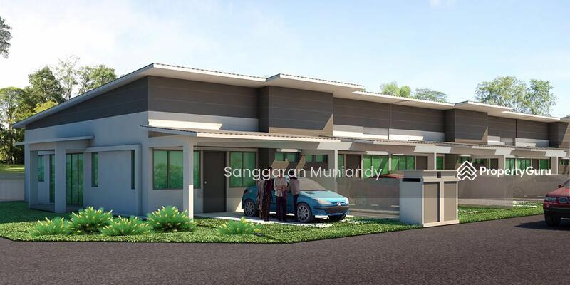 Rumah Teres Setingkat Desa Aman Padang Meha 99190511