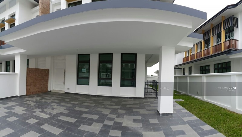 Eco botanic double storey cluster house for sale taman for Eco houses for sale