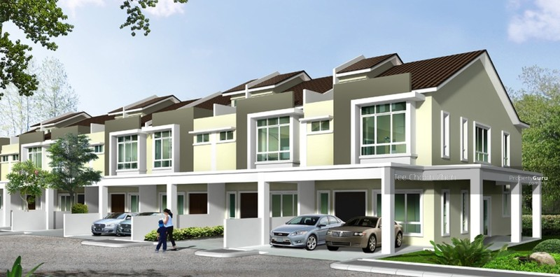 New 2 storey superlink freehold subang jaya petaling for 3 storey terrace house design