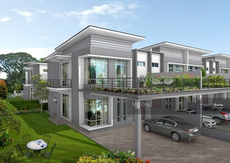 Double storey terrace house at puchong puchong selangor for The terrace land and house