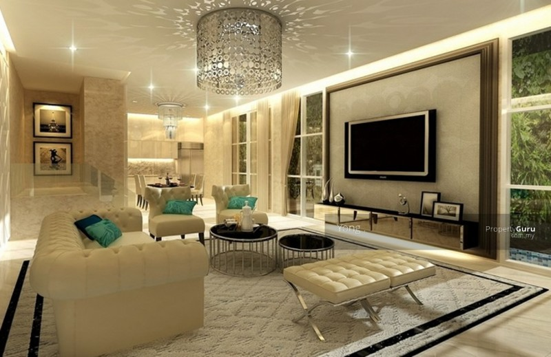 2 sty landed near cyberjaya putrajaya cyberjaya for Modern living room malaysia