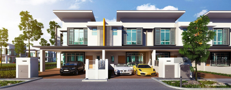 Puncak alam shah alam hill park other shah alam for 2 storey house for sale